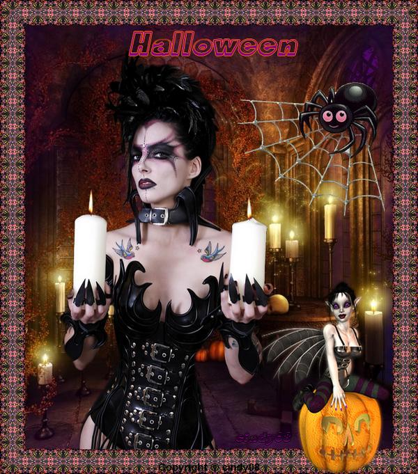 Ma création Halloween 2013