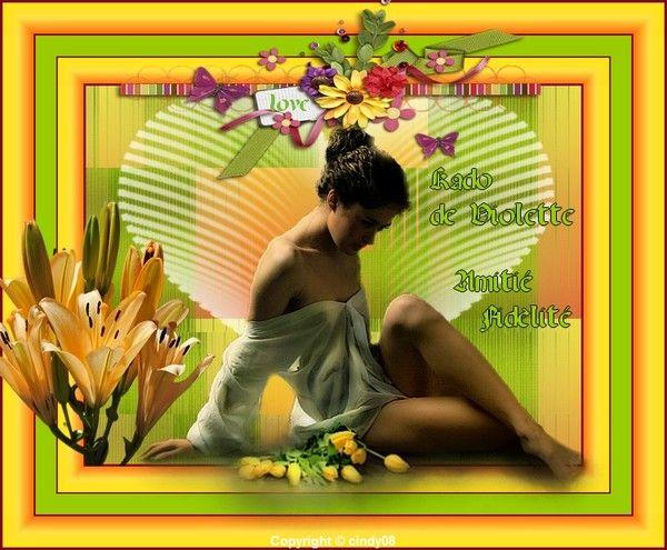 Ma création Kdo pour vous !......!!  Mars 2013
