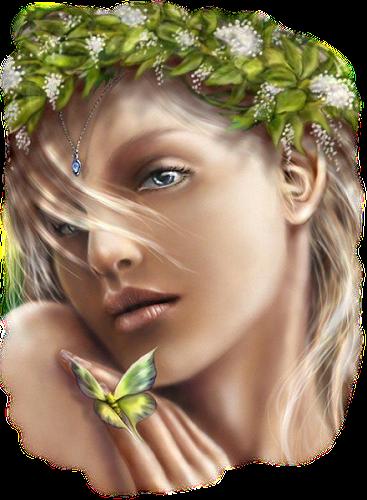 Tubes fées, elfes ,papillons
