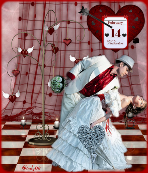 Création de février 2017 Saint Valentin