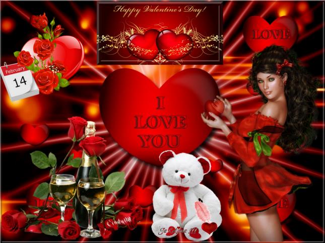 Ma création Sainte Valentine Day