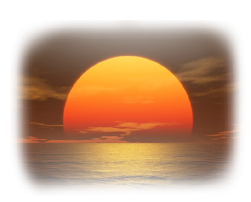 Tubes coucher de soleil for Sol en verre transparent